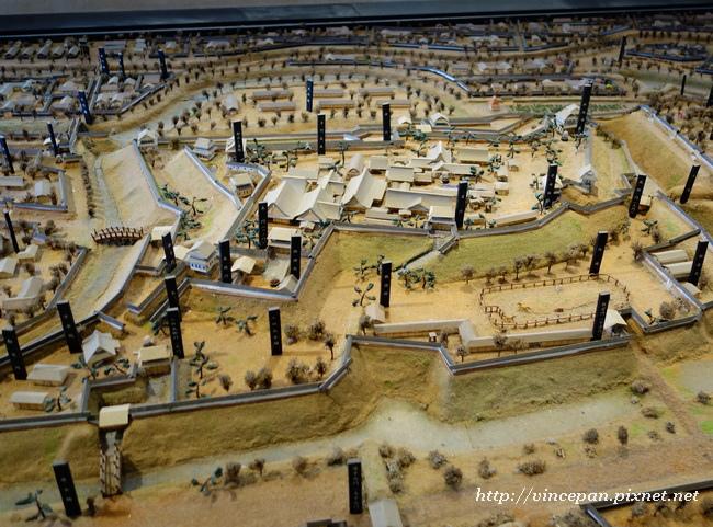 久保田城 模型