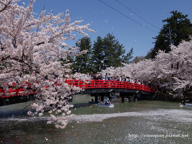春陽橋  吹雪