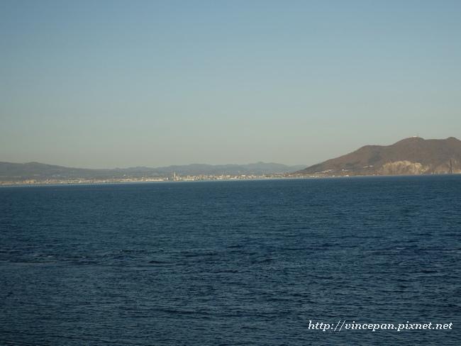 函館山  海