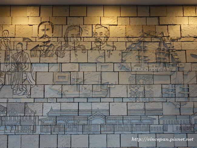 函館車站 雕飾1