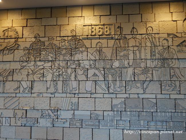 函館車站 雕飾2