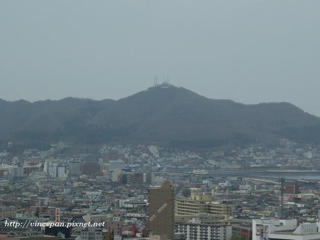 眺望函館山