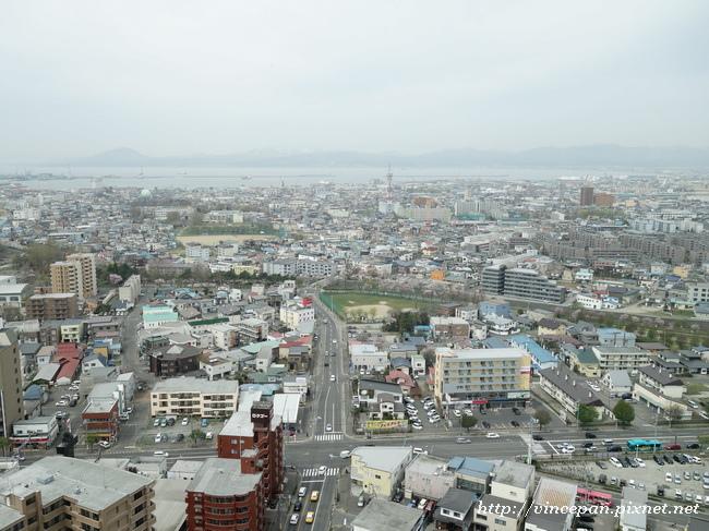 眺望市區  海