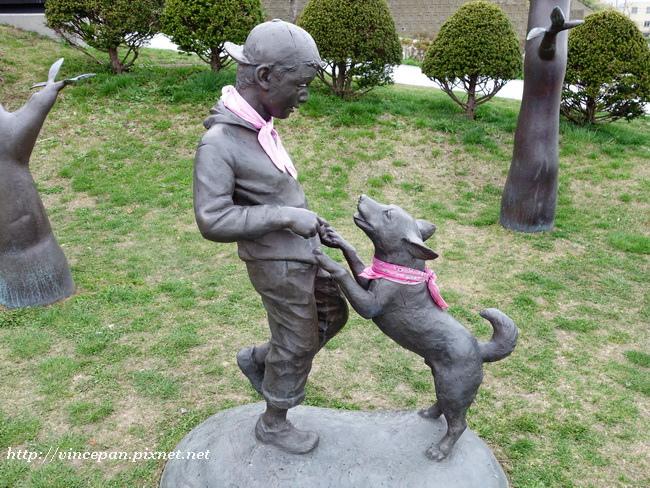 元町公園雕像