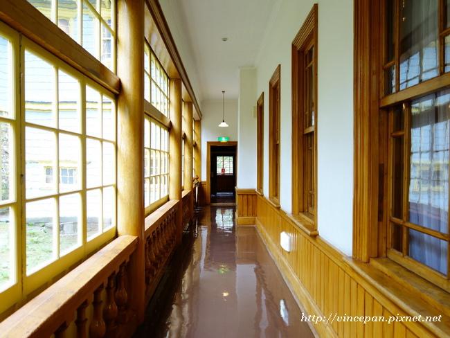 舊函館區公會堂 走道