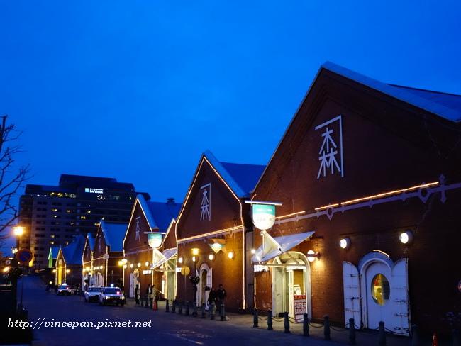 金森紅磚倉庫 夜景
