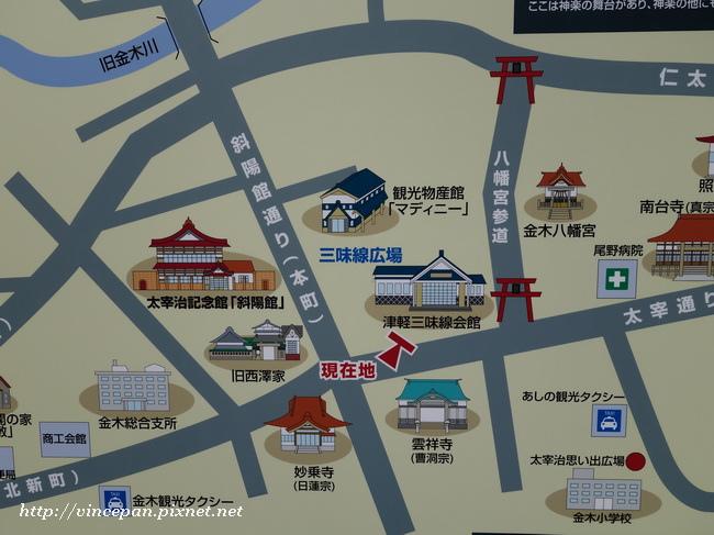 金木町地圖