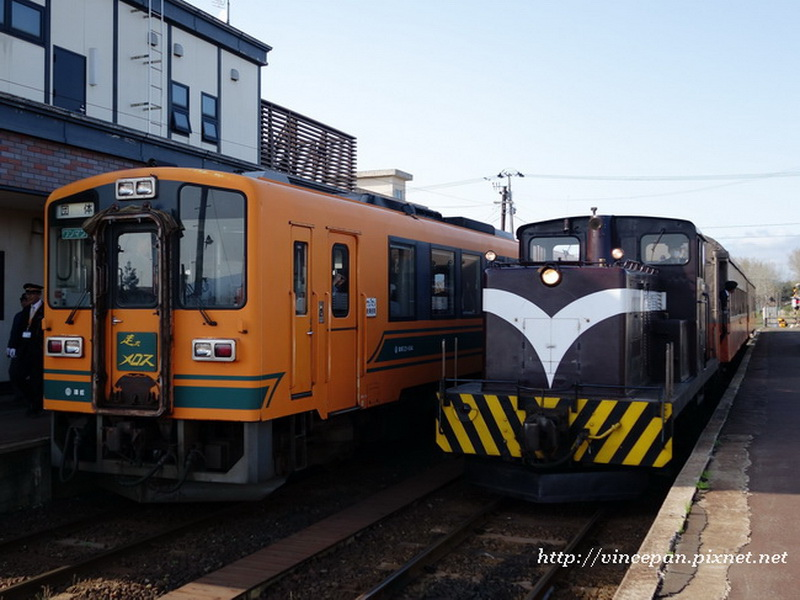 暖爐列車與一般列車