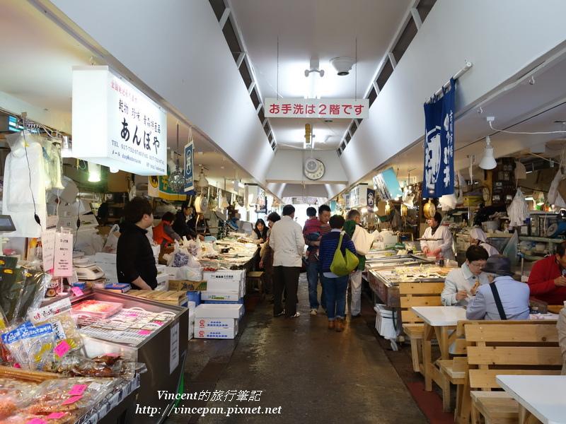 古川市場內