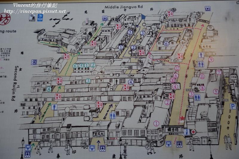田子坊 地圖