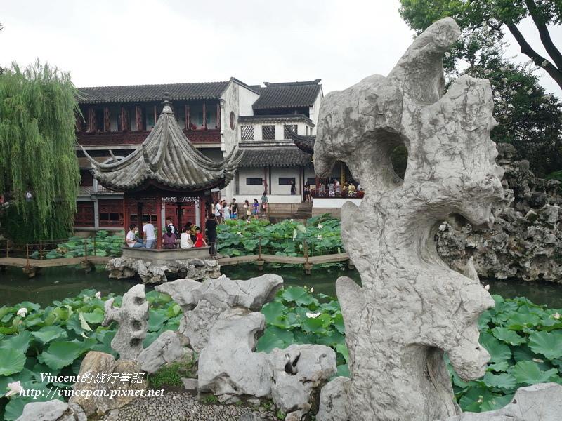 太湖石 湖心亭2