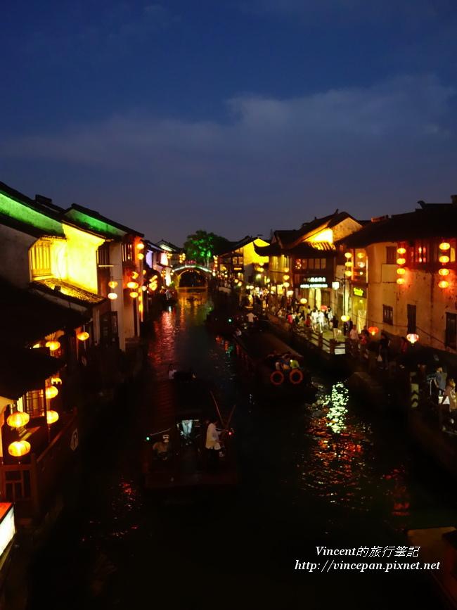 山塘河 夜2