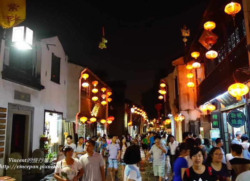 夜晚的山塘街