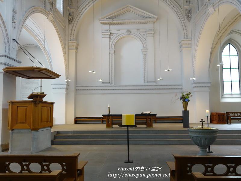 普雷迪格教堂內部2