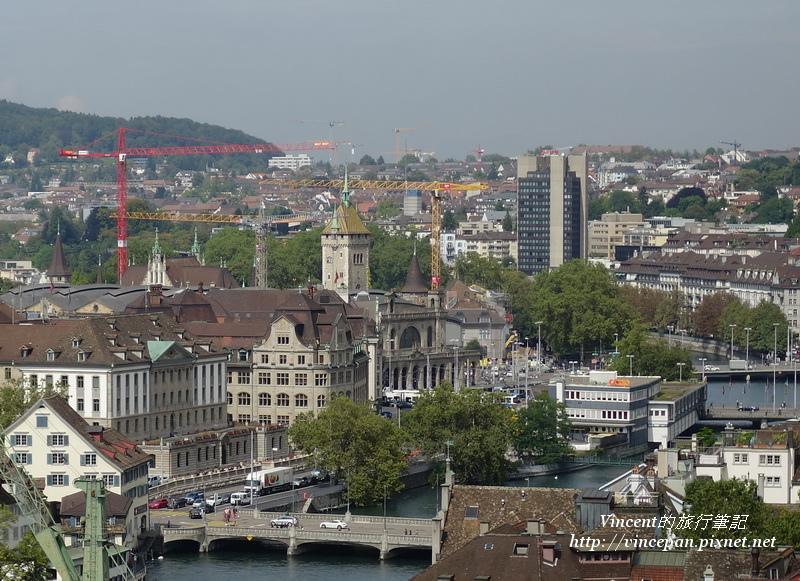 瑞士國家博物館的塔樓