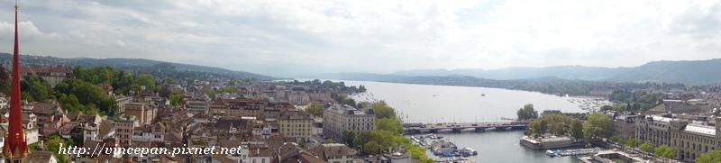 全景模式拍攝蘇黎世2