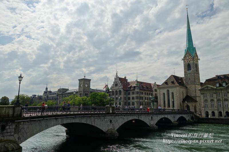 蘇黎世聖母大教堂 橋