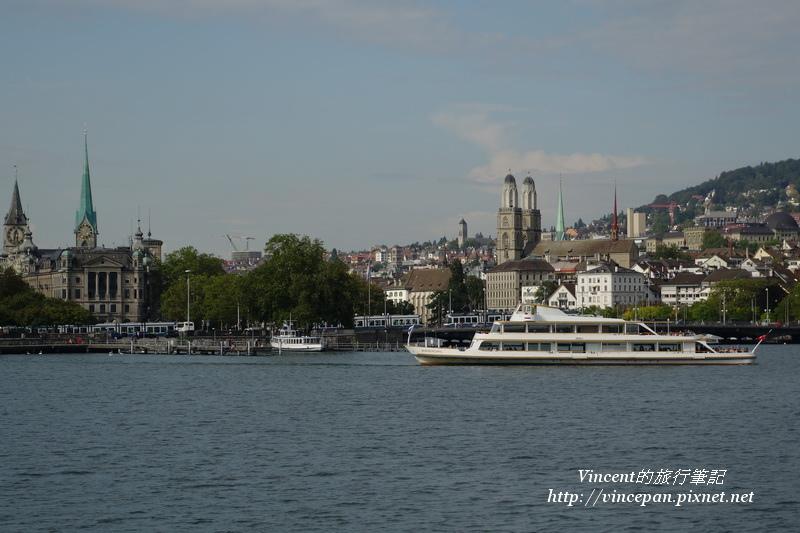 蘇黎世市區 遊艇