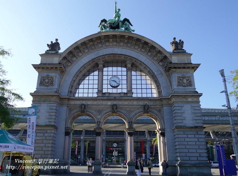 琉森車站牌樓
