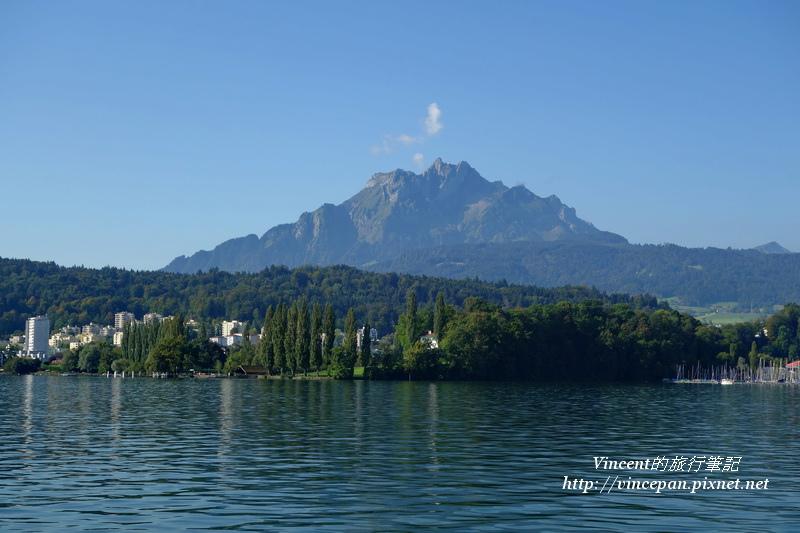 琉森湖 皮拉圖斯山