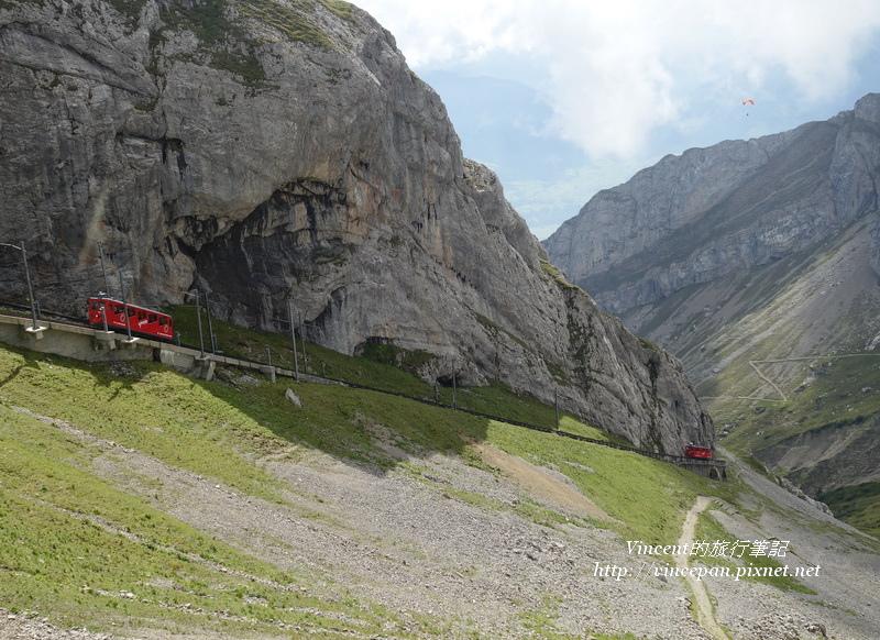 火車山壁1