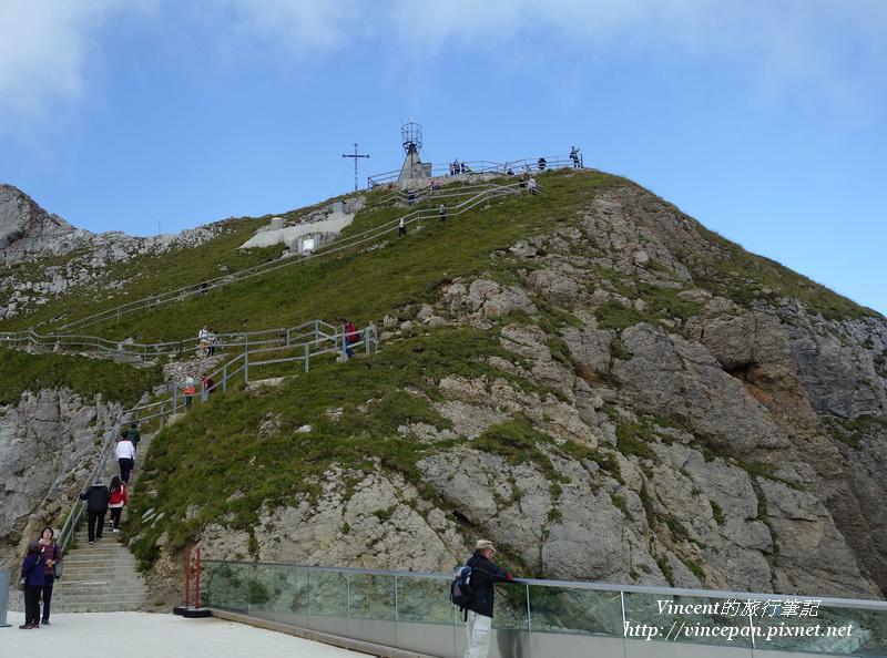 山峰Oberhaupt 步道