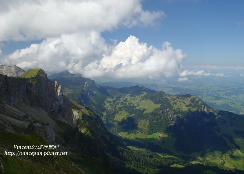 Kriens一側的山體2