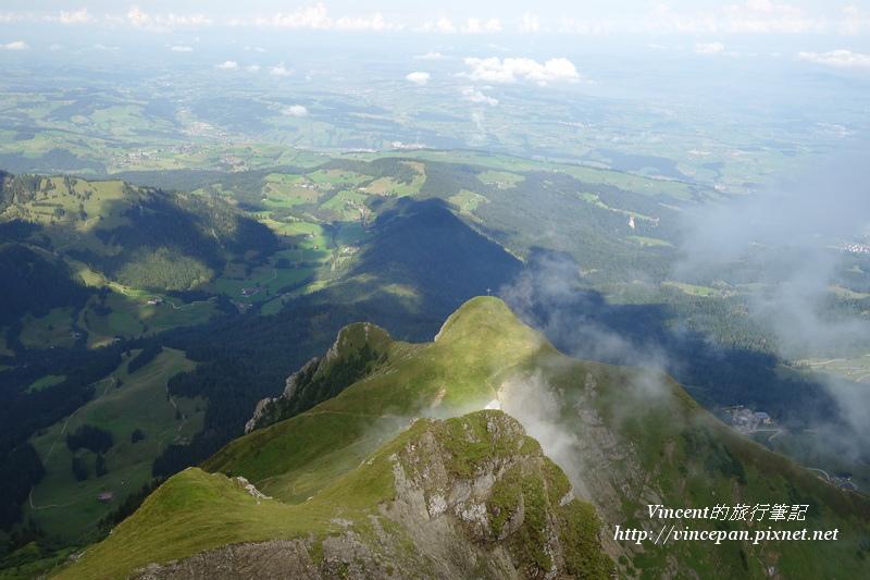 Kriens一側的山體3
