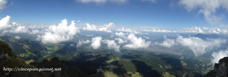 Kriens一側的全景