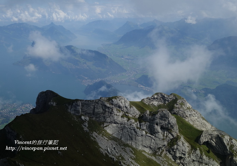 Esel山峰的view