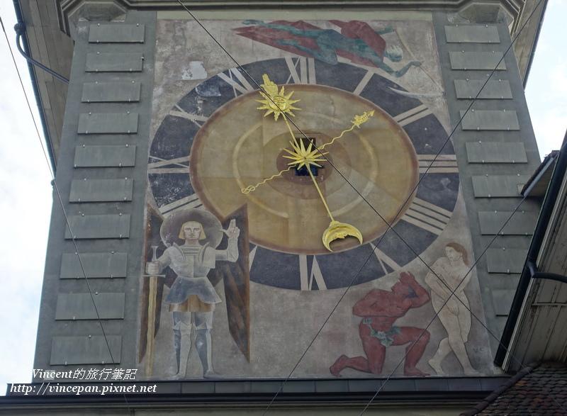 西面的時鐘