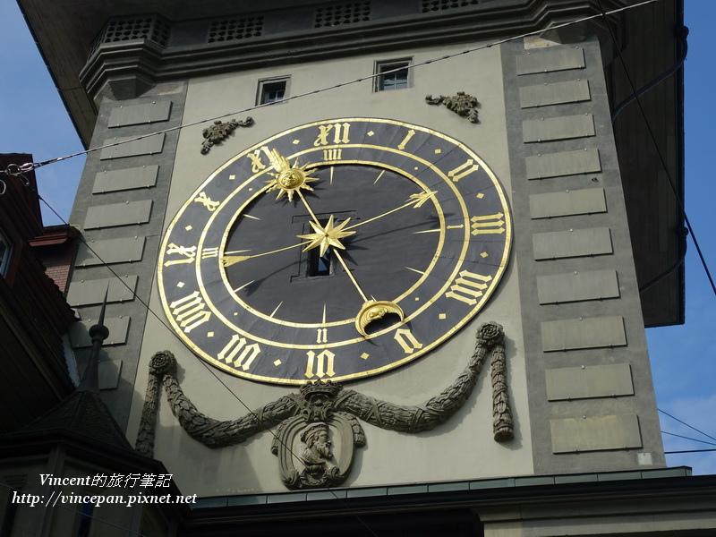 東面的時鐘