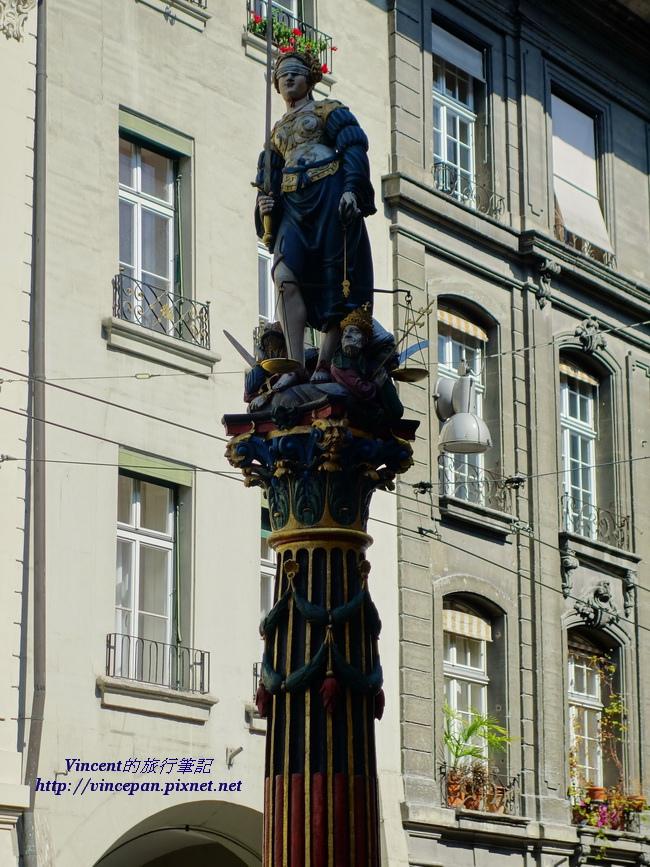 正義女神噴泉1