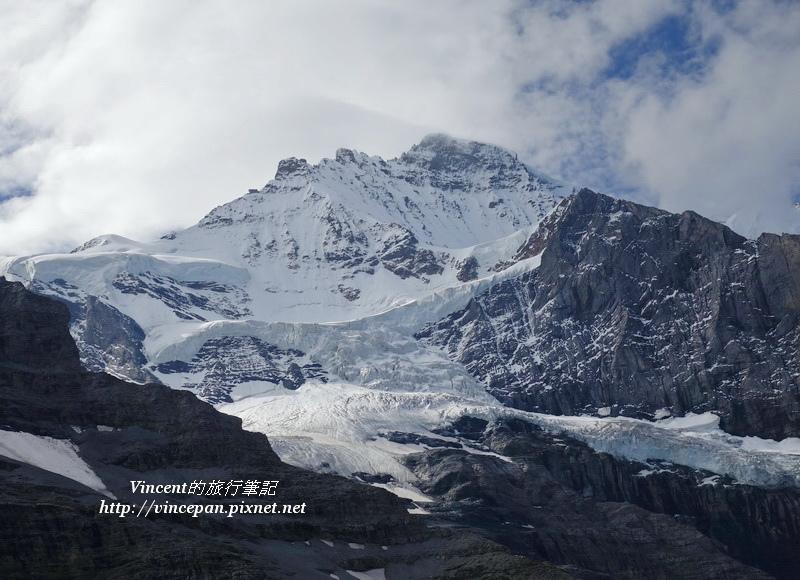 艾格峰的冰河