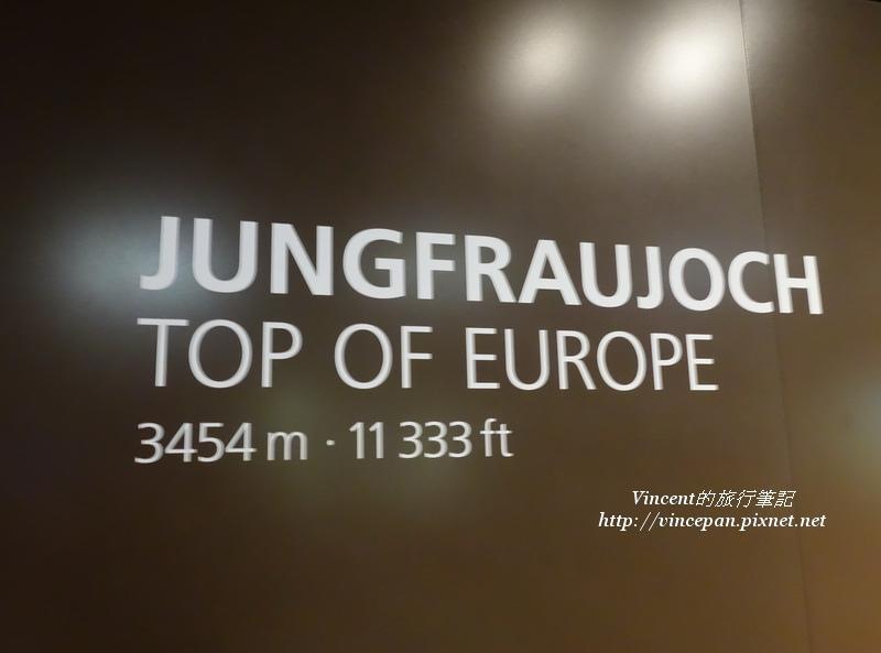 少女峰站Jungfraujoch
