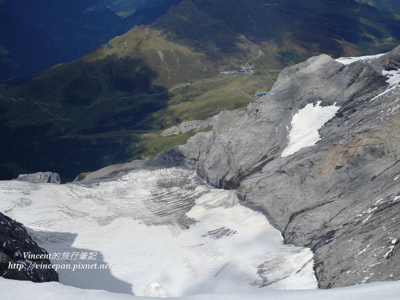 冰河與山下綠地