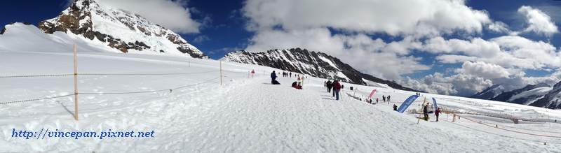 阿雷奇冰河雪上運動樂園  全景