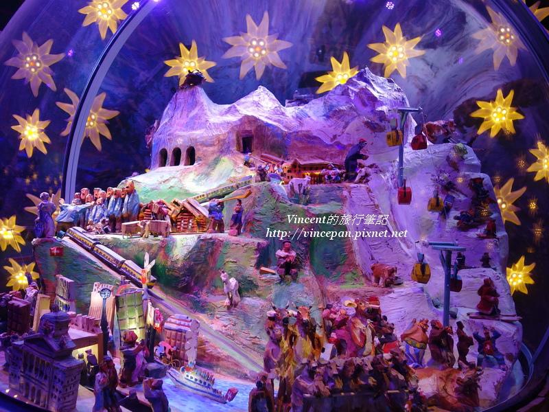阿爾卑斯山展覽 雪球