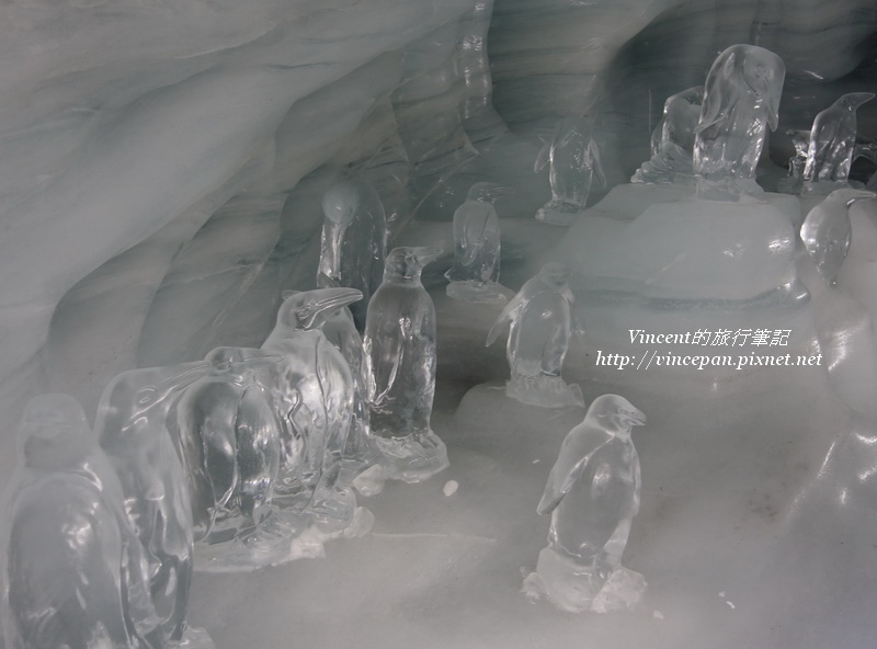 冰雕 企鵝