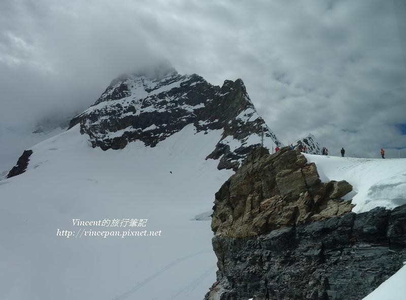少女峰頂與萬年雪平原
