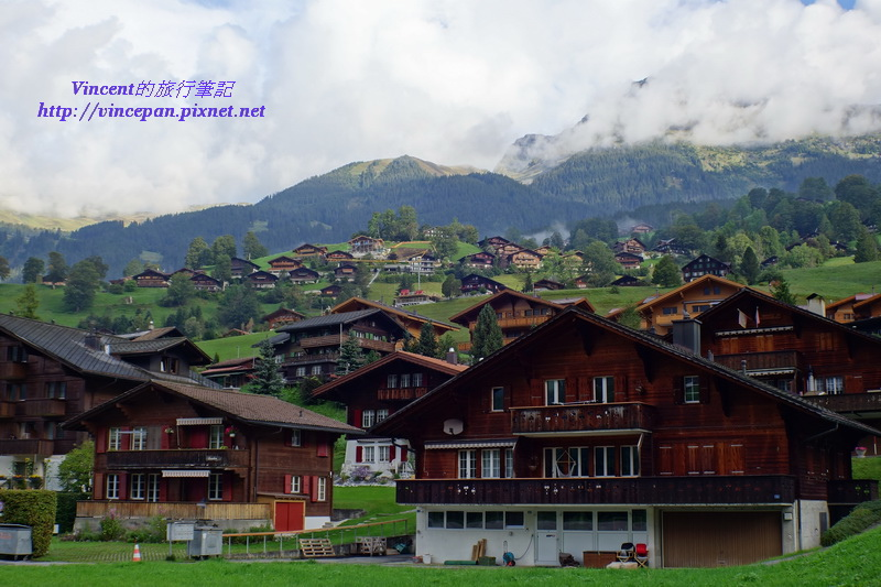 瑞士傳統木屋