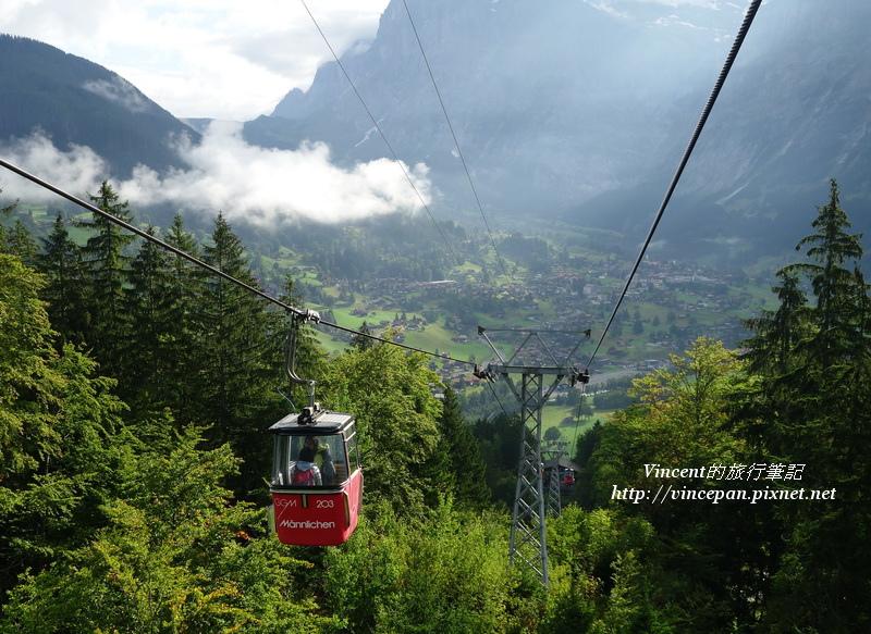格林德瓦山谷 纜車
