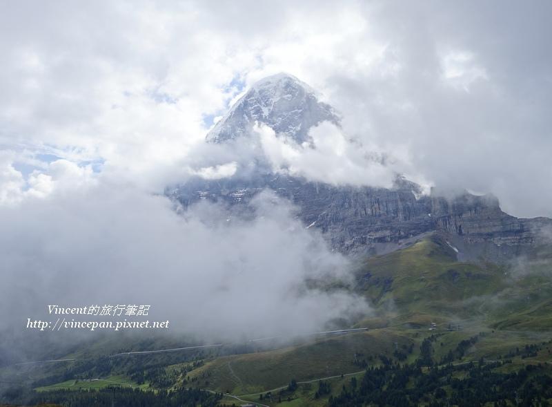 艾格峰頂 雲霧2