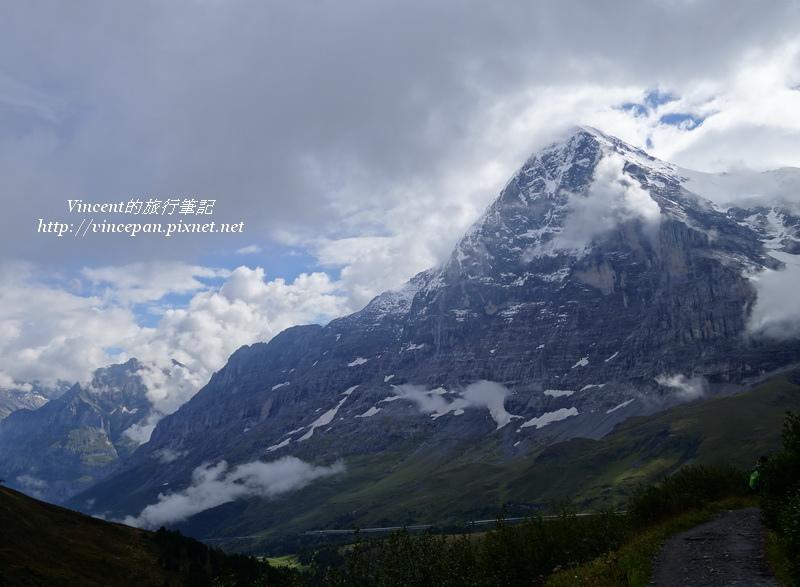 艾格峰北坡