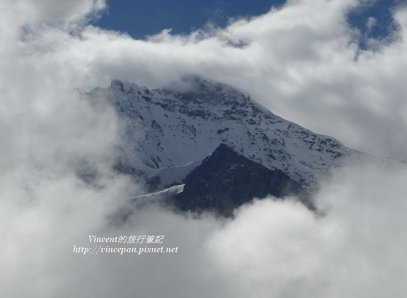 少女峰山景2