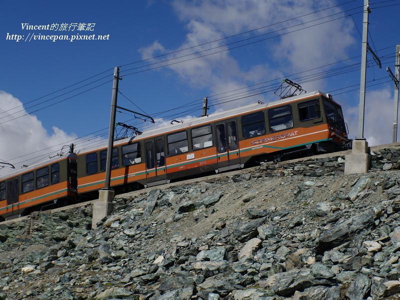 高納葛拉特登山火車