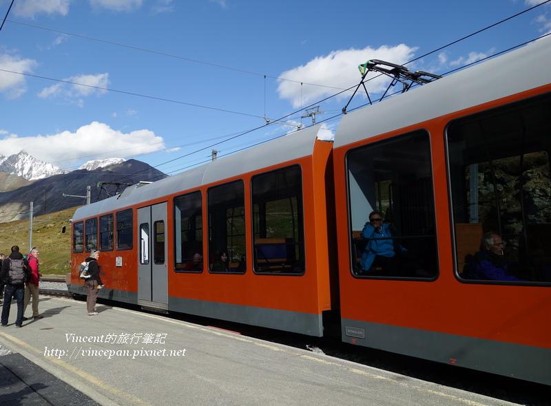 火車在Riffelberg
