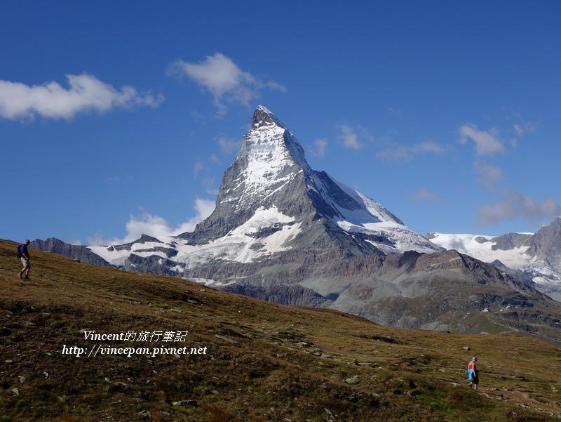馬特洪峰 登山客