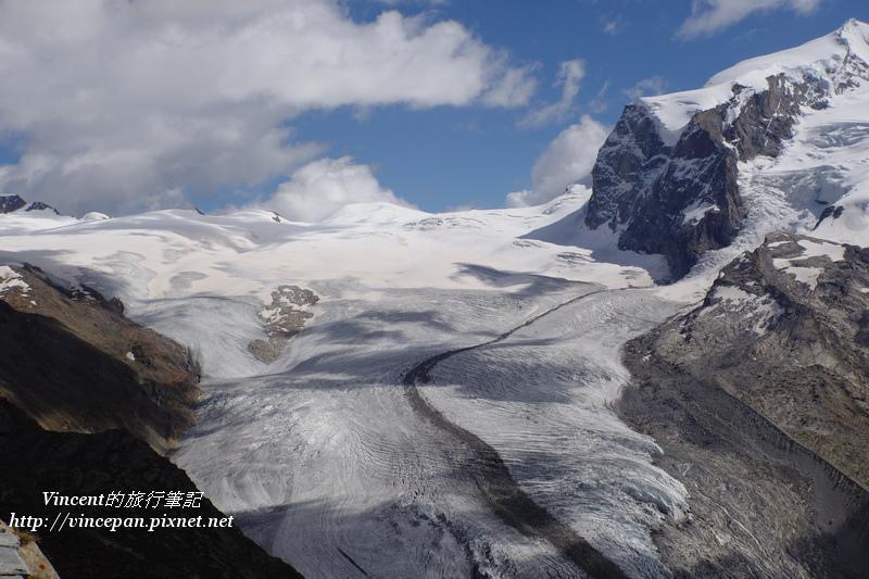高納冰河 源頭