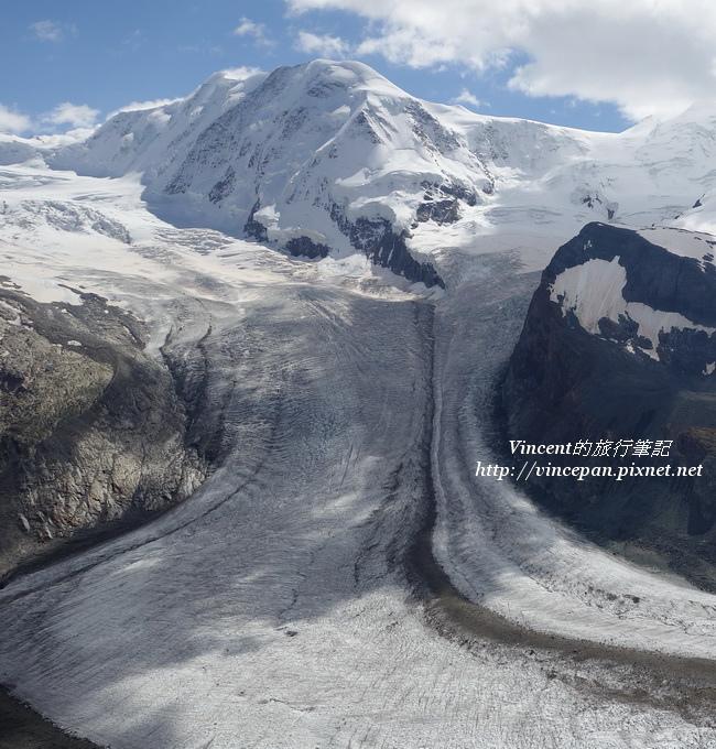 利斯卡姆峰 冰河